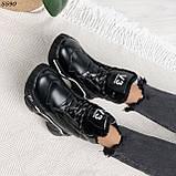 Кроссовки женские черные Зима 5593, фото 10