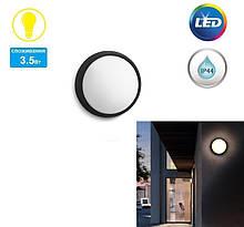 Светильник уличный настенный Philips myGarden Eagle LED 1х3.5W IP44 Black