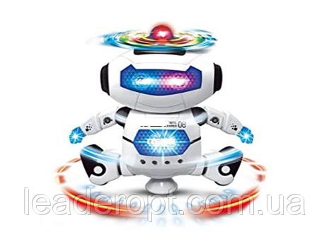 ОПТ Танцующий робот Dancing robot со звуком и светом