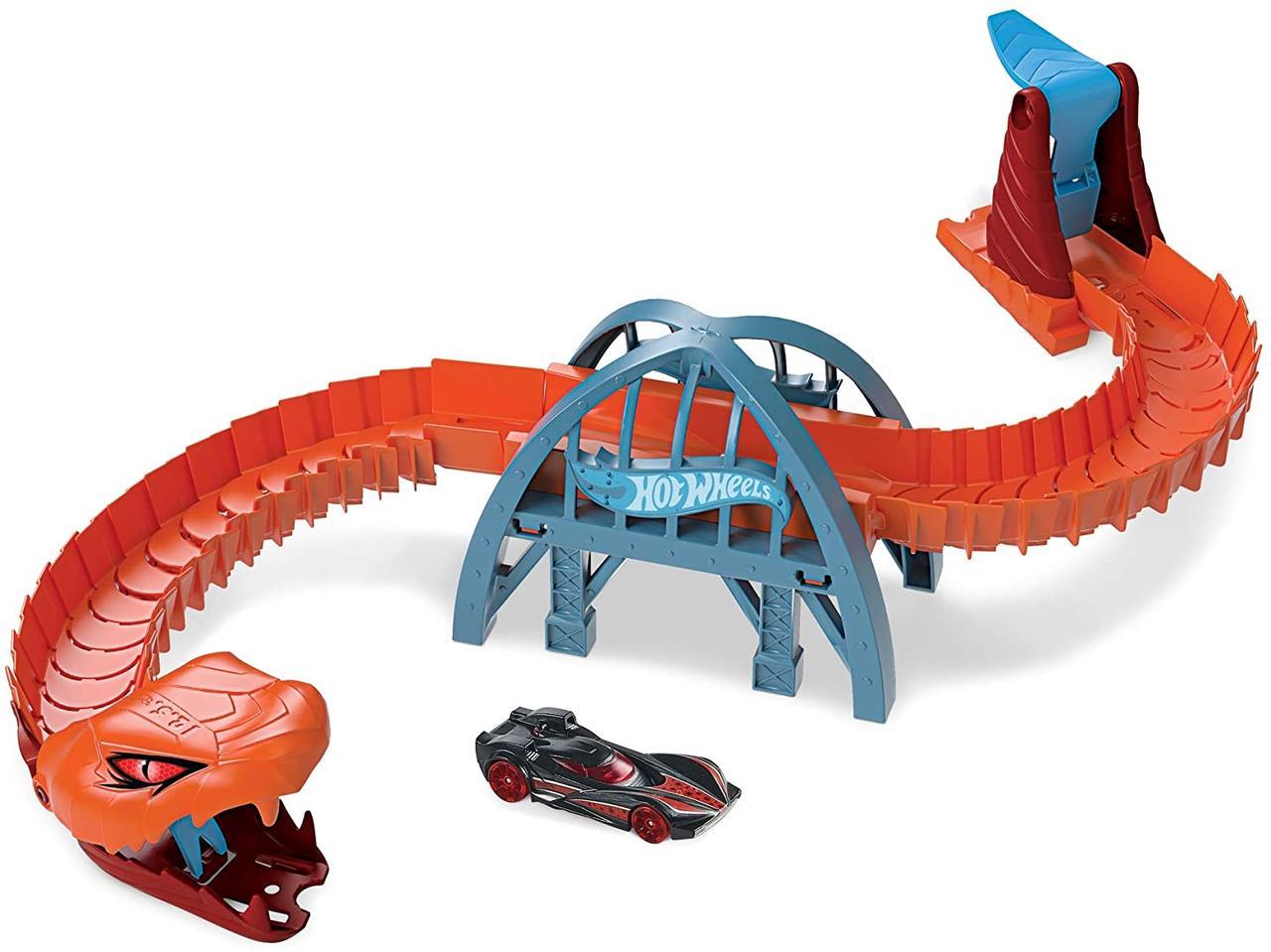 Набор Хот Вилс Монстры в Городе Оригинал Hot Wheels Creatures are Taking Over City (GJK88)