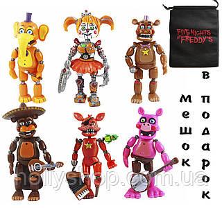 Набір фігурок П'ять ночей з Фредді Funko Five Nights at Freddys Pizza Simulator Series 4