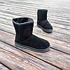 Угги черные мужские UGG эко замша замшевые высокие ботинки сапоги зимние, фото 6