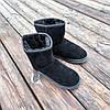Угги черные мужские UGG эко замша замшевые высокие ботинки сапоги зимние, фото 4