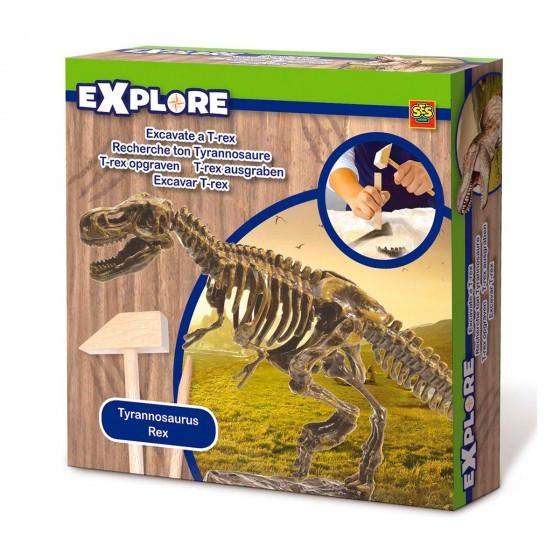 Набор Серии Исследователь - Раскопки Скелета Тираннозавра SES Creative 25028S