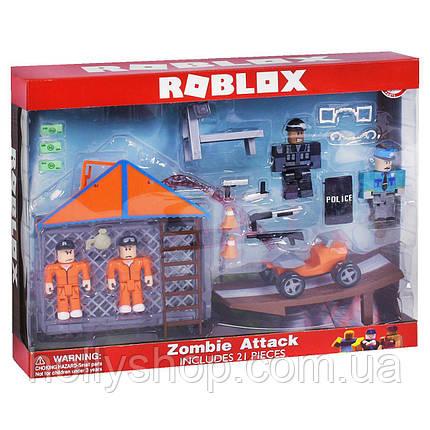 Набір Роблокс zombie attack (Roblex) колекційні фігурки — дельтаплан, фото 2