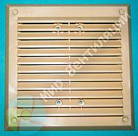 Вентиляционная решетка 155*155 мм бежевая, фото 1