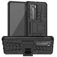 Чехол Armor Case для Huawei P40 Pro Black