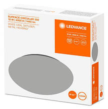 Светильник светодиодный накладной LEDVANCE SF Circular LED 350 18W/4000K IP44
