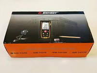 Лазерная рулетка SNDWAY SW-TG50 дальномер уровень 50 метров + Чехол + Батарейки, фото 5