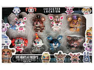 Набір фігурок 5 ночей з фредді sister location фнаф п'ять ночей систерс