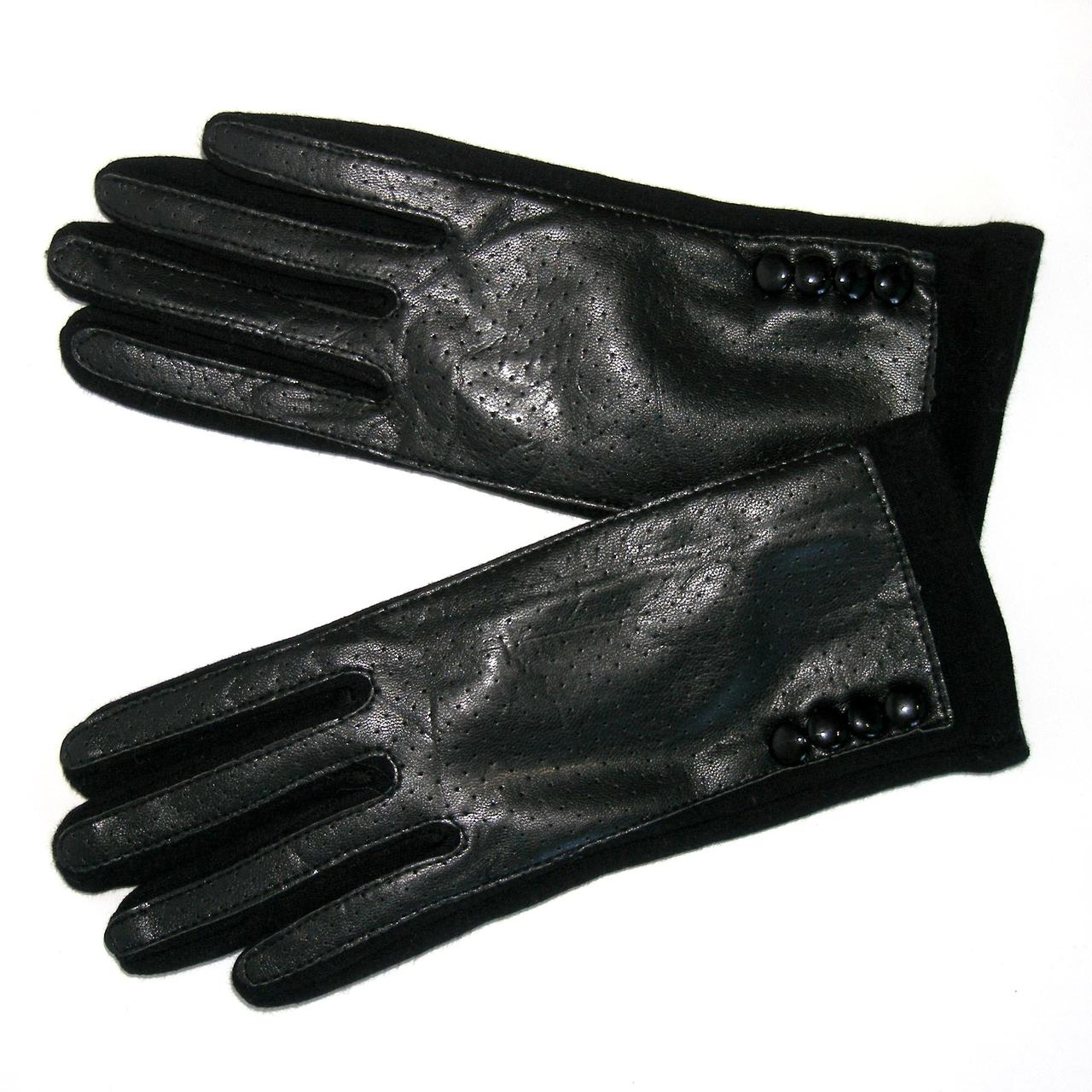 Перчатки женские сенсорные черные р. 7