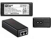 PoE-инжектор 2E PowerLink PSE801, 1xFE, 1xFE PoE, 802.3af/at, 30W
