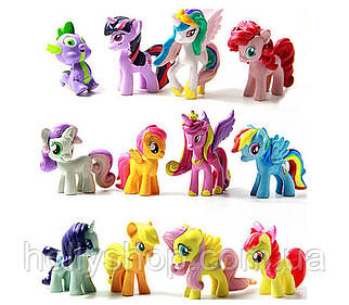 Набір фігурок Травень Літл Поні My little pony фігурки Поні 12 шт