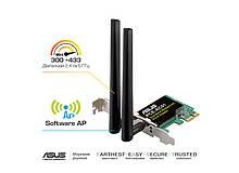 WiFi-адаптер ASUS PCE-AC51  802.11ac, 2.4/5 ГГц, AC750,  PCI Express