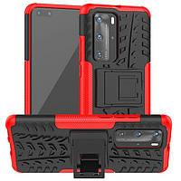 Чехол Armor Case для Huawei P40 Pro Red