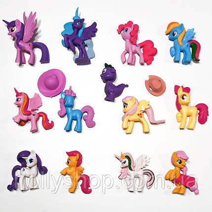 Большой Набор фигурок Май Литл Пони My little pony фигурки Пони 13шт, фото 2