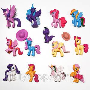 Великий Набір фігурок Травень Літл Поні My little pony фігурки Поні 13шт