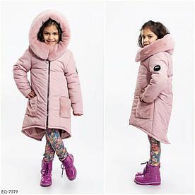 Детская куртка. Описание Ткань:плащевка аляска, наполнитель синтепон( 300г/м2),подкладка термо-флис.