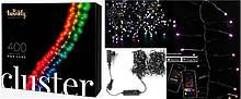 Smart LED Гирлянда Twinkly Cluster RGB 400, BT+WiFi, Gen II, IP44 кабель черный