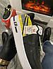 Мужские кроссовки 3M x Nike Air Force 1 React LX Release Information (Premium-class) черные с желтым, фото 7