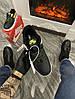 Мужские кроссовки 3M x Nike Air Force 1 React LX Release Information (Premium-class) черные с желтым, фото 3