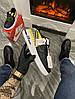 Мужские кроссовки 3M x Nike Air Force 1 React LX Release Information (Premium-class) черные с желтым, фото 2