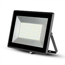 Прожектор уличный LED V-TAC, 100W, SKU-5966, E-series, 230V, 6500К, черный