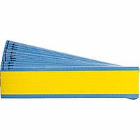 Brady TMM-COL-YL кабельные маркеры 6,35*12,7 мм. (желтый лист)