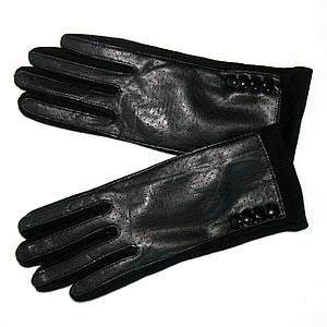 Перчатки женские сенсорные черные р.8