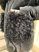 Черная зимняя куртка ZLLY 20436-01, фото 8
