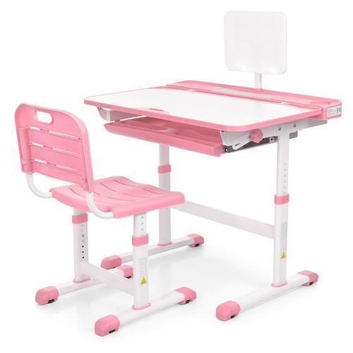 Парта и стул M 3823A-8, розовый