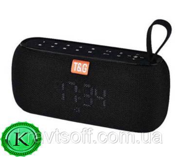Беспроводная bluetooth-колонка SPS UBL TG177, c функцией speakerphone, радио, PowerBank, часы