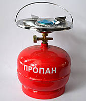 Газовый баллон Intertool GS-0005 (5 литров)