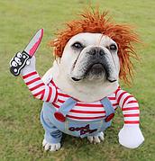 Костюм для домашних животных, костюм для собак Пират, размер L
