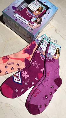 Дитячі шкарпетки дівчинка теплі Disney Violrtta