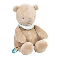 Nattou Мягкая игрушка - Мишка Базиль, 28 см