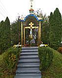 Поклонный крест из булата разных размеров 3м, фото 5