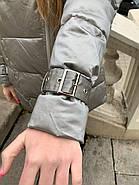 Короткий пуховик с мехом  ZLLY 20439-19, фото 4