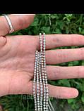 Подвійний обруч з кристалами та китицями (2Х3), фото 8