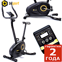 Велотренажер магнитный Besport BS-10201B WINNER черно-желтый. Вес до 110 кг