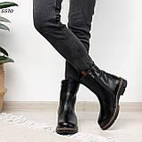 Женские ботинки кожаные Зима 5570, фото 2
