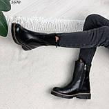 Женские ботинки кожаные Зима 5570, фото 9