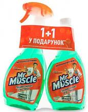 Комплект Mr Muscle (спрей 500 мл+запаска 500мл)