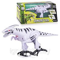 Интерактивное животное Динозавр D103 2 цвета ,свет, звук, в кор.36*12*16см