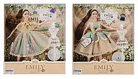 "Кукла как Барби ""Emily"" QJ078A/QJ078C (48шт/2) 2 вида,с манекеном и аксессуарами, в кор.33*28*6см"