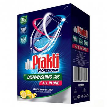 Таблетки для посудомоечных машин dr.Prakti Лимон 72 штук