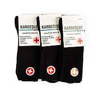 Мужские носки для диабетиков без резинки с махровой стопой