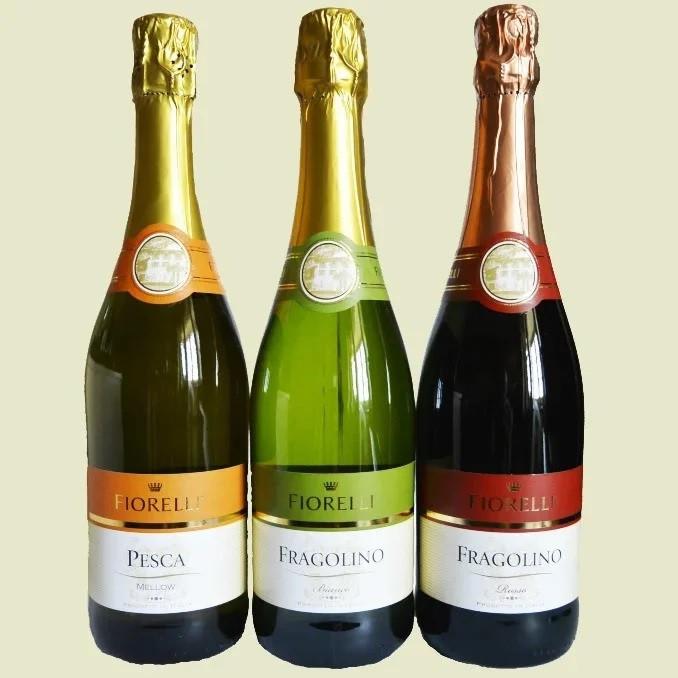 Шампанське (вино) Фраголіно Фіорелло Fragolino Fiorelli Італія 750 мл