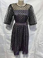 Платье женское размер  42 44 46 48 ростовкой расцветки, фото 1