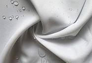 Тканевая шторка для ванной и душа 180х200 см Полевые цветы бежевая, фото 3